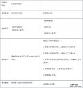 云南省考试中心:2018年初级和中级能不能一次性报考两门呢?