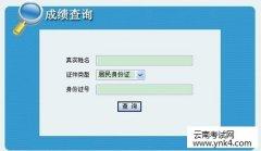 云南省人力资源和社会保障部:2018咨询工程师资格考试成绩查询