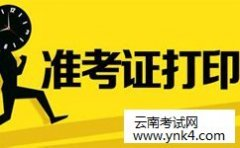云南省人力资源和社会保障部:2018咨询工程师考试准考证打印