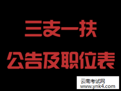 """云南招考频道:2018年云南省""""三支一扶""""人员招募考试政策解析"""