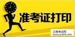 云南事业单位:2018年云南省事业单位招聘准考证打印及笔试公告