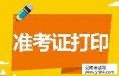 云南人事考试网:2018云南注册安全工程师执业资格准考证打印