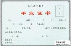云南考试网:2019年在职人员大专/本科学历提升热门专业选择