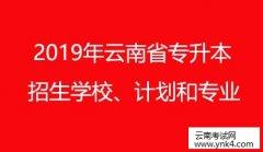 云南招考频道:2019年云南省普通高等学校本科招生计划和专业