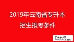 云南招考频道:2019年云南省普通高等学校本科招生报考条件