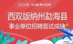 事业单位招聘:2019年西双版纳州勐海县事业单位招聘面试成绩