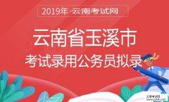 云南公务员考试网:2019年云南省玉溪市考试录用公务员拟录