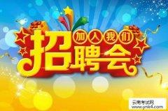 云南人事考试网:2019年昆明市嵩明县招商服务中心招聘