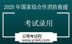 云南公务员考试网:2020年国家综合性消防救援队伍考试录用