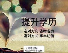 2020年云南省成考专升本招生专业与统一考试科目对照表