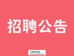 云南人事考试网:2020年云南省水利水电投资有限公司专项招聘